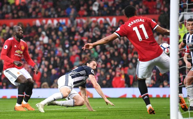 Last Place West Brom Beats Manchester United Causing