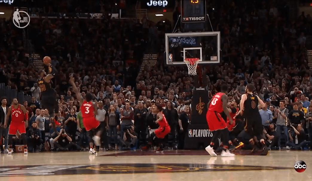 LeBron James sinks Raptors with buzzerbeating runner to
