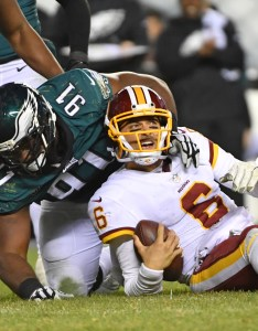 also it   up to mark sanchez save the washington redskins season rh thecomeback