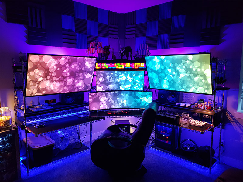 After all, the area will be used for playing games. Top 28 Video Gaming Setup Room Ideas - TheHomeRoute