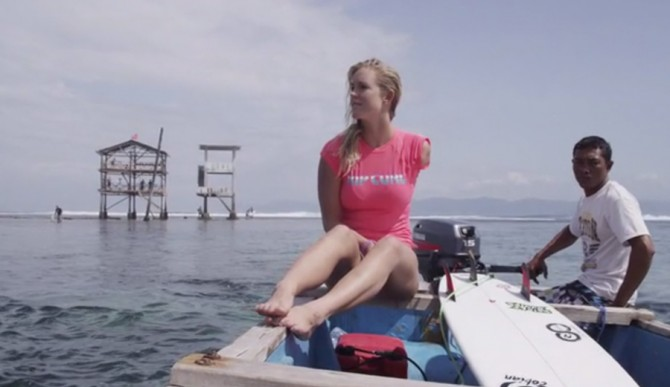 For Bethany Hamilton, this is only the beginning. Photo: Kickstarter