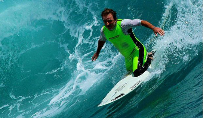 Meet the OneLegged Surfer Vying for a World Championship