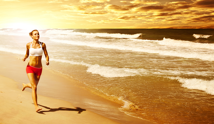 Girl Running On Beach Wallpaper 5 Hawaiian Words Of Wisdom To Redefine Your Fitness