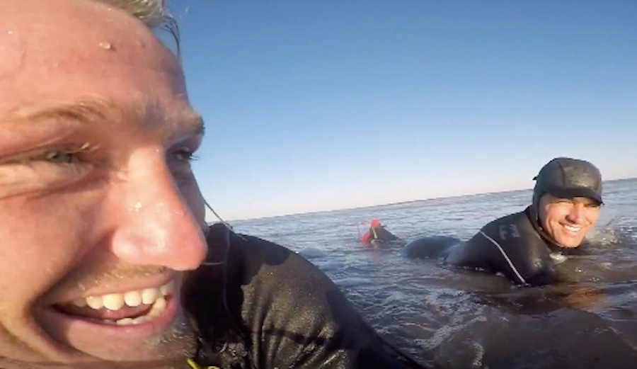 Surfing Epic Waves at Home in New Jersey and Oh Yeah