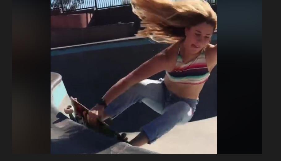 This Is Skater Jordyn Barratt Shredding A Pool Barefoot