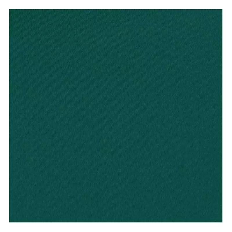 toile coton demi natte vert canard