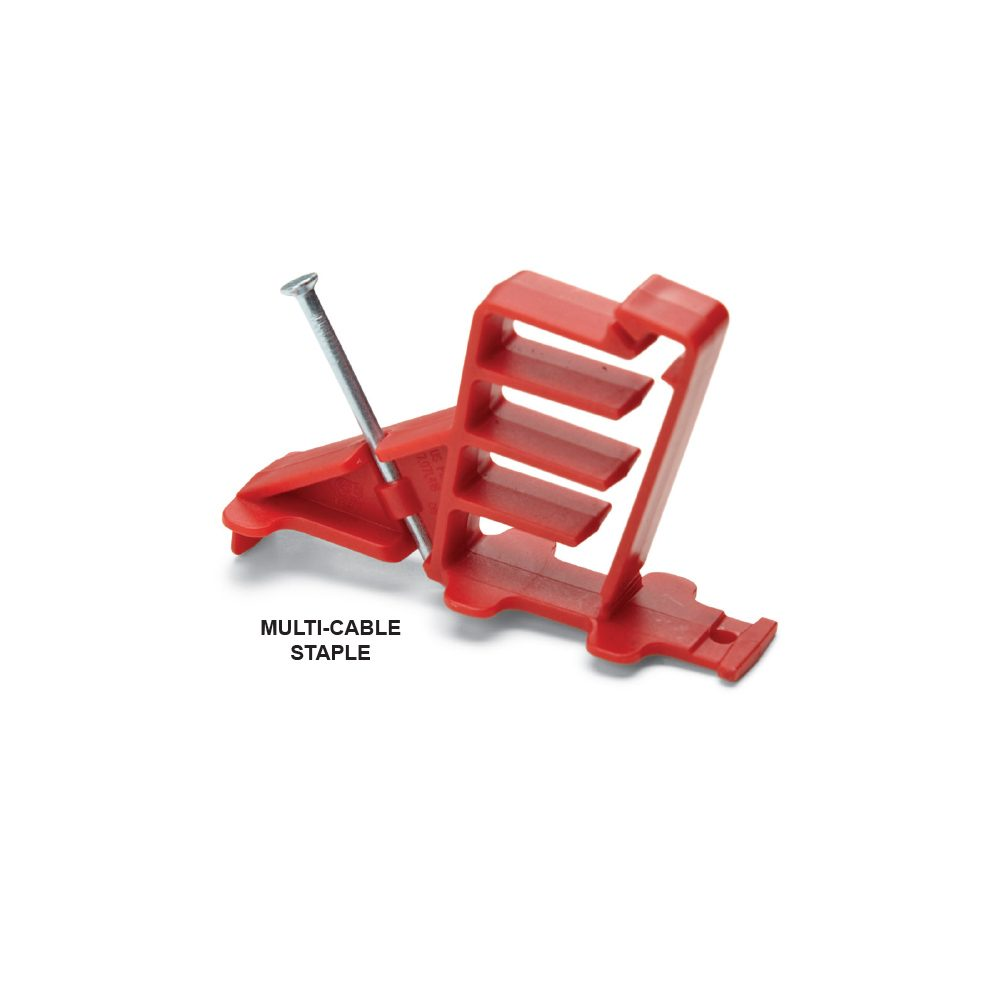 medium resolution of red multi cable staple construction pro tips