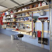 DIY Garage Wall Storage Ideas