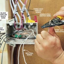 Wall Outlet Wiring Diagram Gmc Envoy Radio How To Rough-in Electrical | The Family Handyman