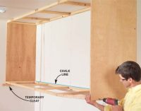 Installing Large Garage Cabinets | The Family Handyman