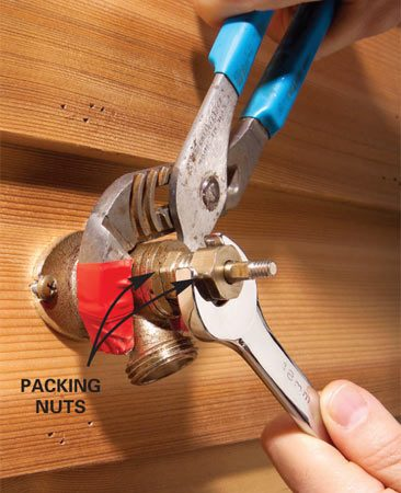 kitchen faucets with sprayer online cabinet layout tool how to stop a freeze proof faucet from leaking | the ...
