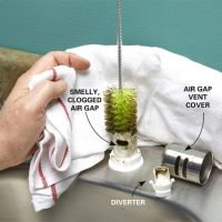 Water is Coming Out of the Air Gap | The Family Handyman