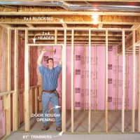How to Finish a Basement: Framing and Insulating | The ...