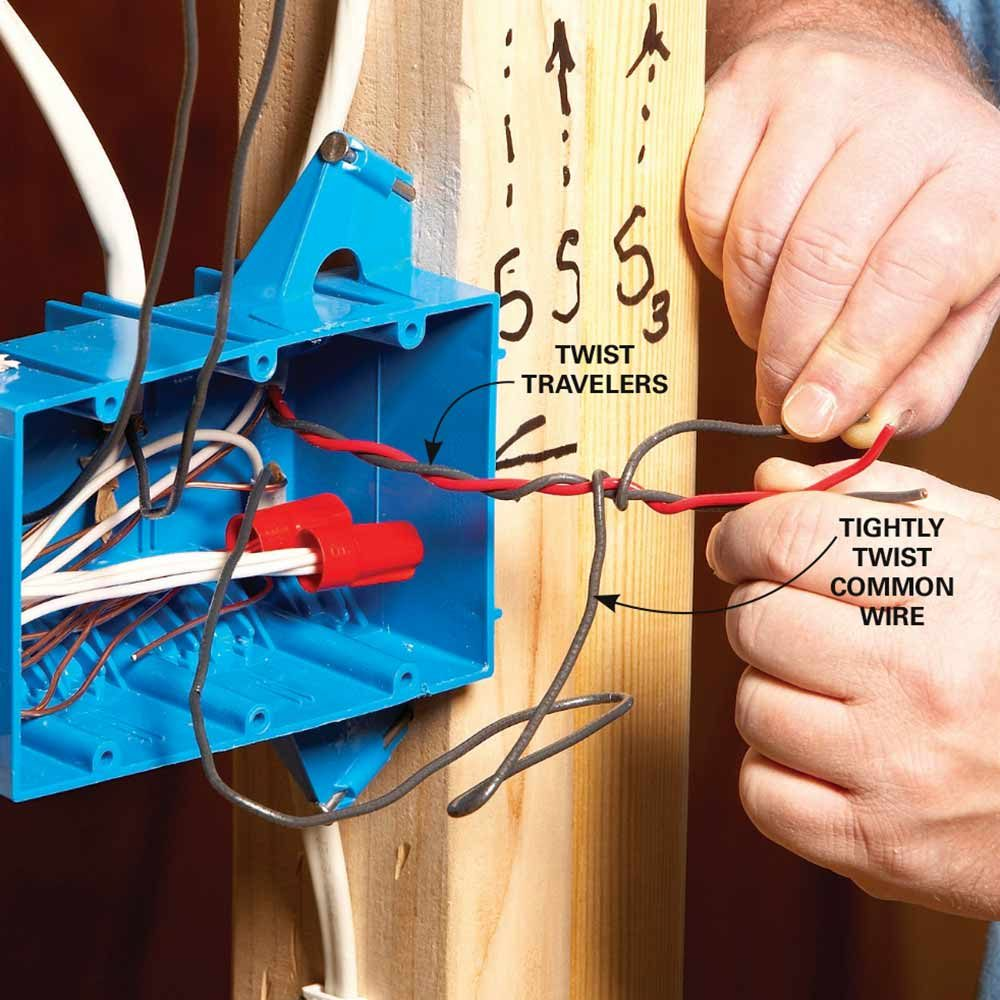 Electrical Wiring Basics Red Wire