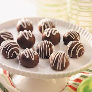 Bomboane de ciocolata de casa