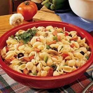 Italian Pasta Salad with Pepperoni Recipe Taste of Home