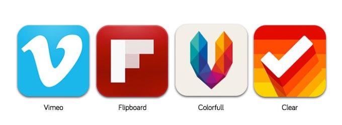 ikony aplikacji na iOS 7