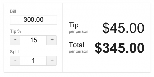 Pro Tip: Google Search Now Includes A Tip Calculator
