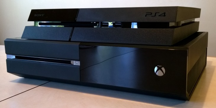 xboxone ps4 stack 730x365 PlayStation 4 vs. Xbox One: Which one is for you?