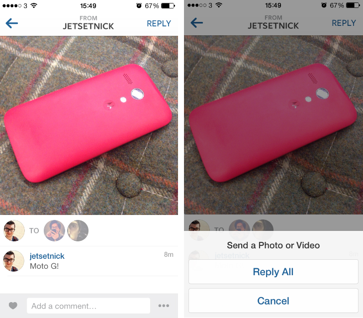 insta5 Instagram launches Instagram Direct, lets you share photos and videos privately with friends