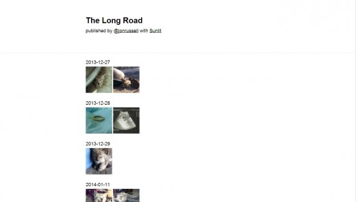 sunlit1 520x295 Sunlit for iOS is a neat journaling app that lets you easily curate and share photo stories