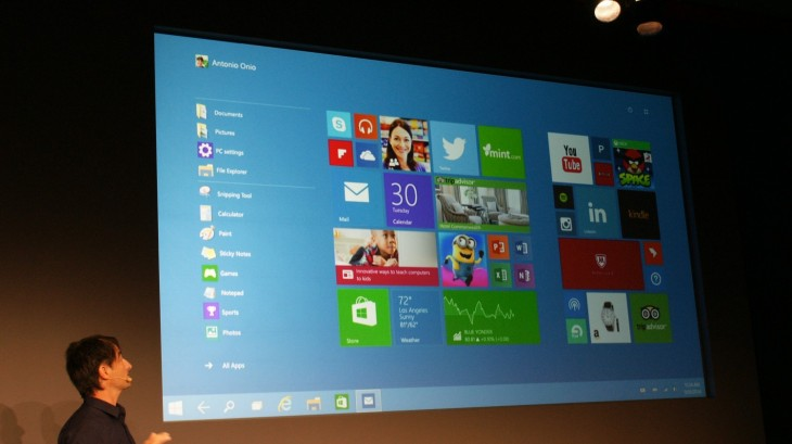 Microsoft 2014 81 730x409 Microsoft announces Windows 10, promises mid 2015 release and Windows Insider Program tomorrow