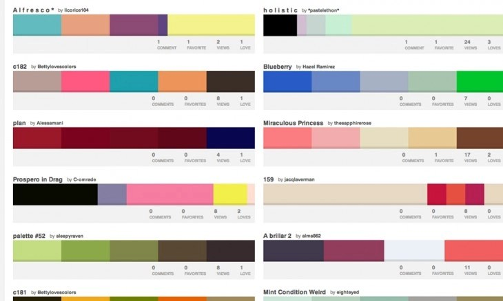 colourlovers 730x438 40 free resources every designer should know
