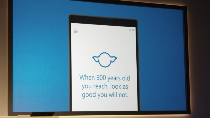 cortana windows 10 yoda 730x410 Everything Microsoft announced at its Windows 10 event in one handy list