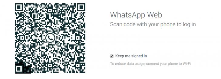 whatsappweb 730x264 WhatsApp finally launches on the Web