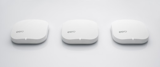 eero 3 pack side by side 520x220 Eero wants to eliminate Wi Fi dead spots in your home without extenders