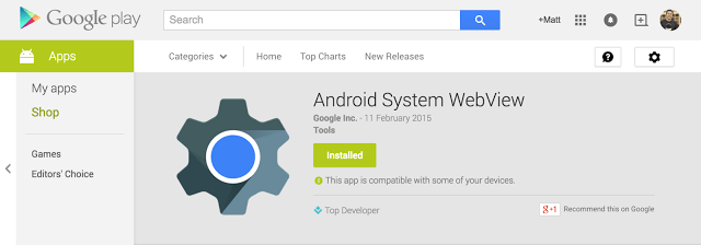 image00 Google launches a beta channel for Android WebView on Lollipop