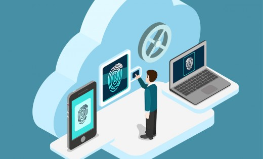 mobile security laptop fingerprint 520x315 Why 2015 will be the year that the cloud comes of age
