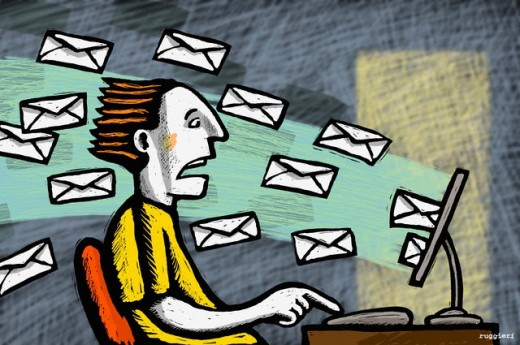 flood of emails 520x345 Why multitasking is bad for our brains