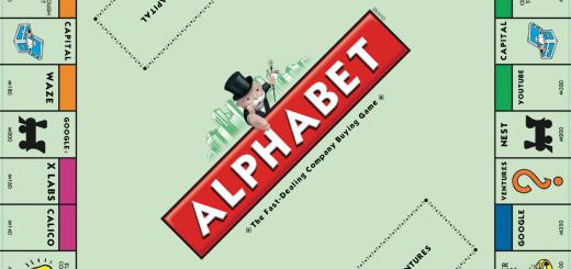 Alphabet Google Monopoly 2