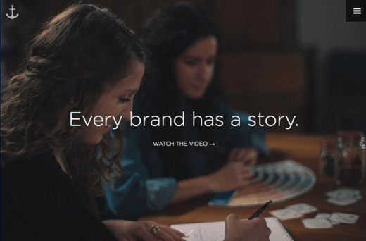 brand storytelling interactive user experience