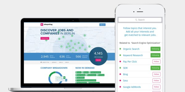 jobspotting launches analytics