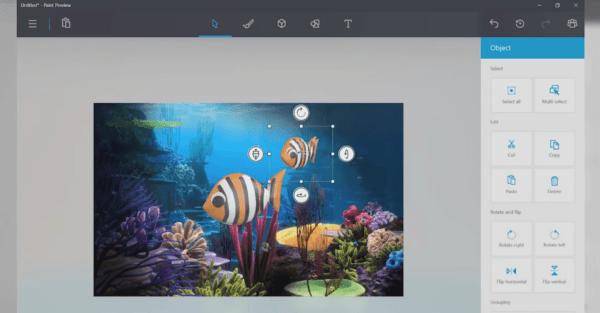 3D Microsoft Paint Drawings