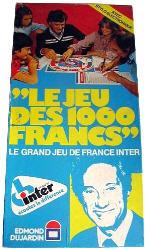 Le Jeu des 1000 francs - L'Escale à jeux