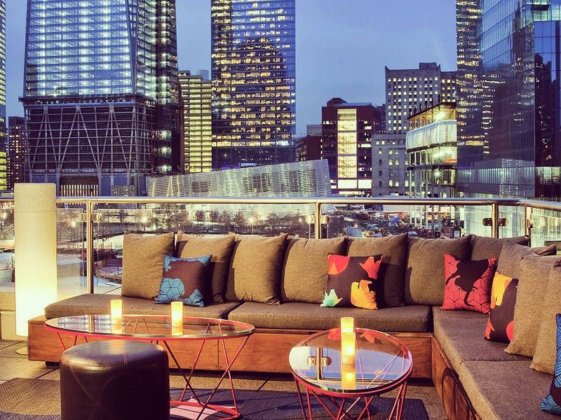 Top 10 rooftop bars in New York  America travel inspiration