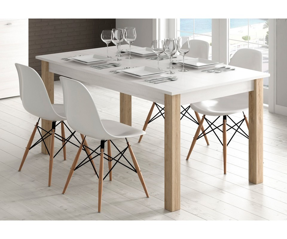 Comprar Mesa de comedor extensible Trevi  Precio mesas