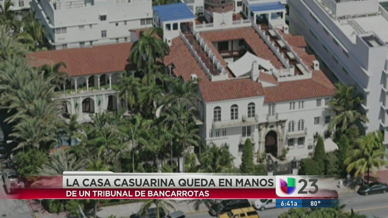 Antigua mansin de Gianni Versace est a punto de sufrir otra tragedia  Univision