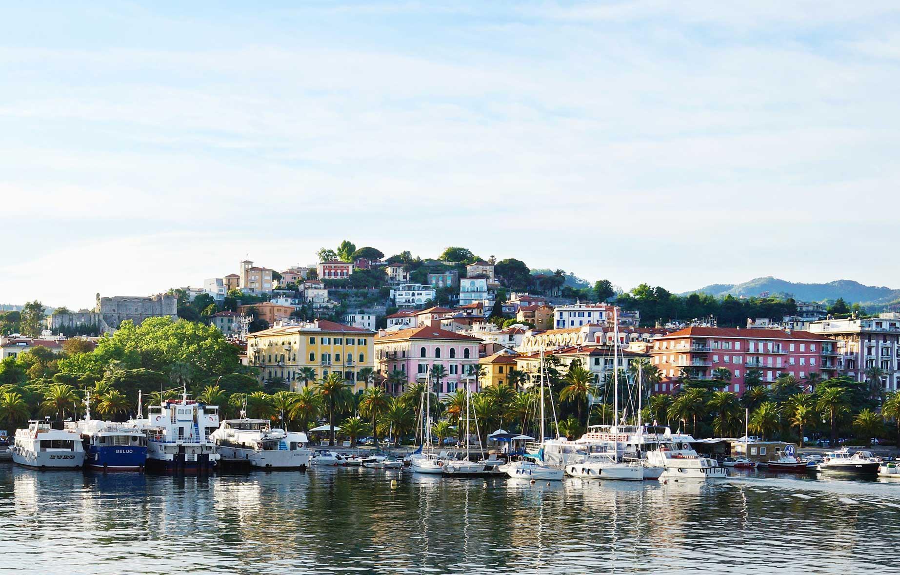 24 timmar i italienska La Spezia  Vagabond