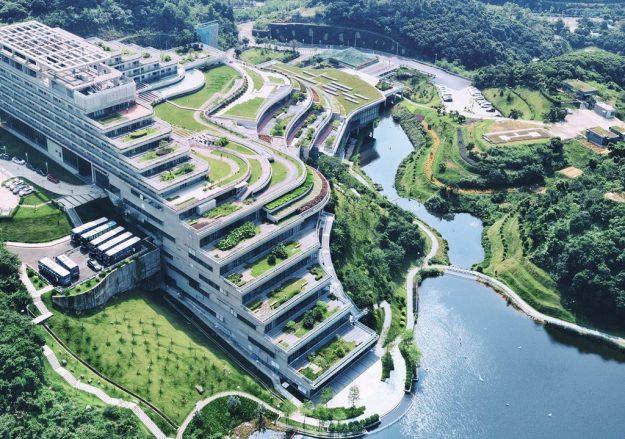 edifici simbolo della sostenibilità di shenzen