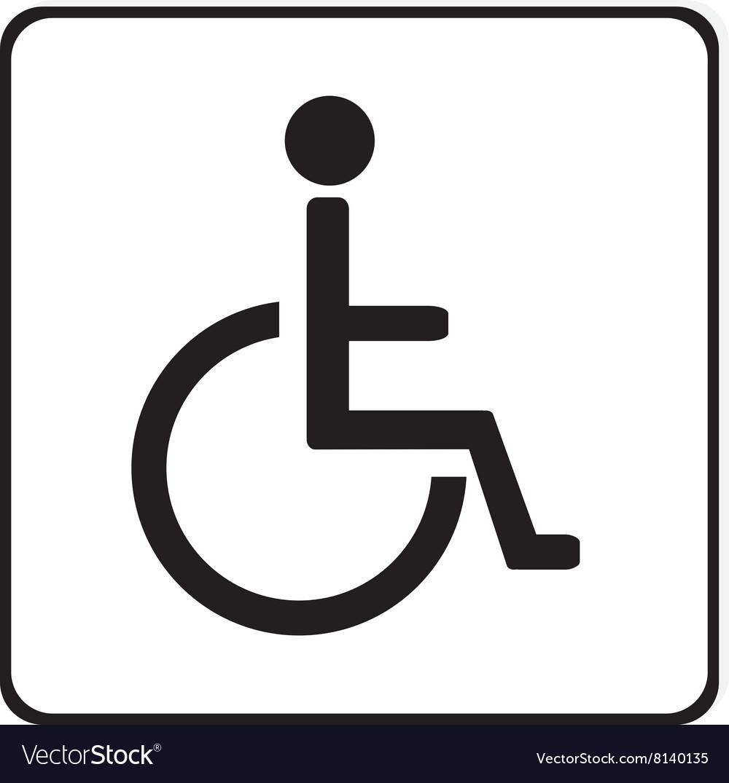 disabled handicap sign
