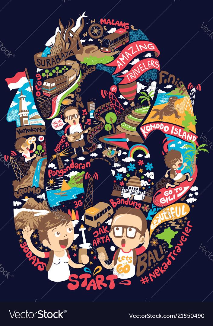 Pulau Jawa Vector : pulau, vector, Couple, Vector, Images