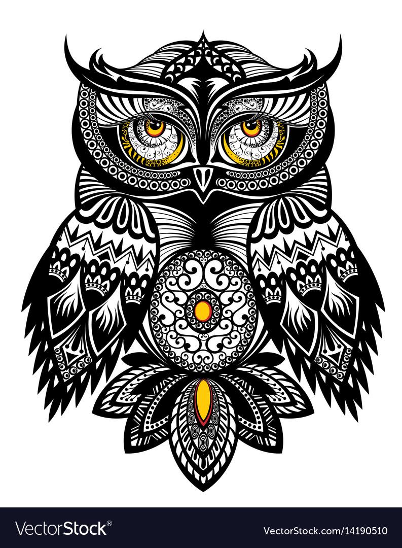 Tattoo Art Owl