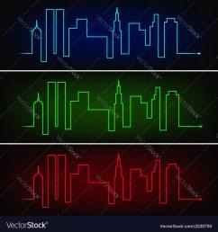 city pulse vector image [ 1000 x 1080 Pixel ]