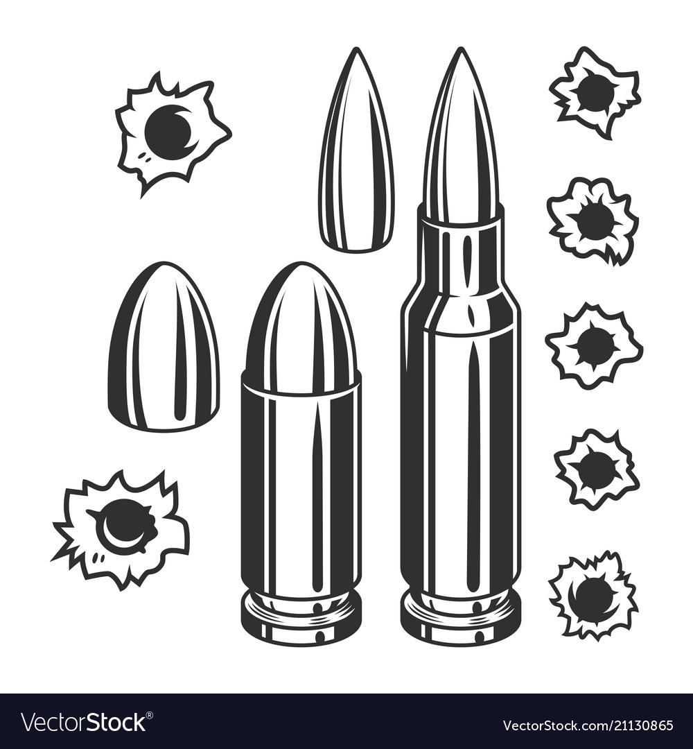 vintage bullets and bullet