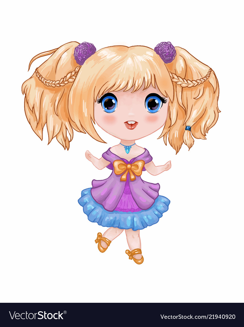chibi little cute anime
