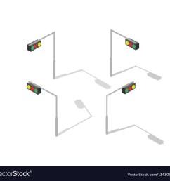 isometric lamp lights vector image [ 1000 x 946 Pixel ]